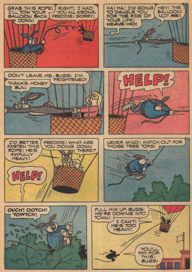 Fantastic Freddie (From Bugs Bunny # 149, May 1973)