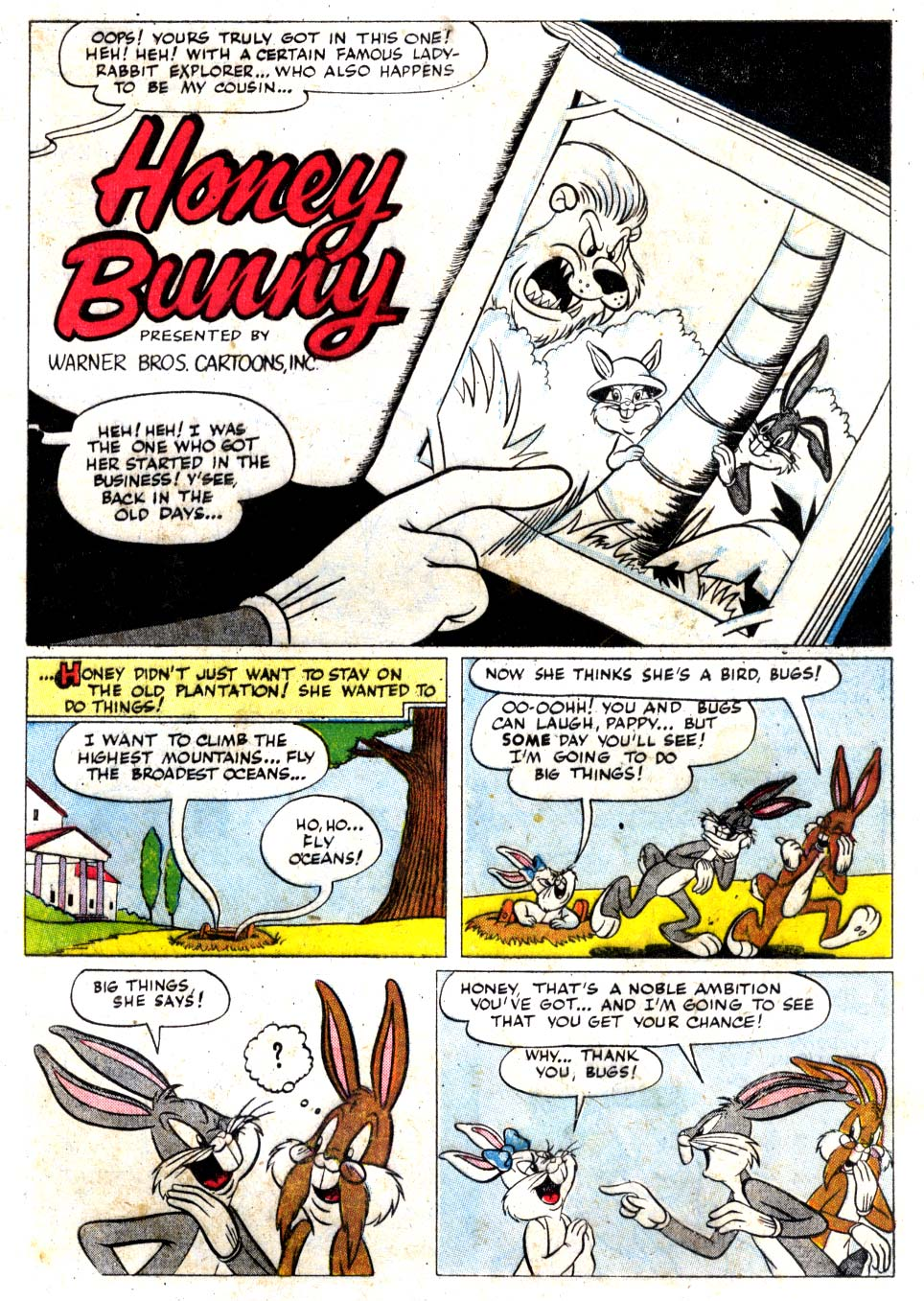 Honey Bunny (Bugs Bunny's Album 1953)