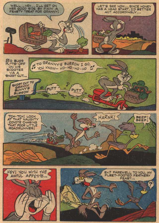 Little Red Riddin' Rabbit (From Bugs Bunny 110, March, 1967)