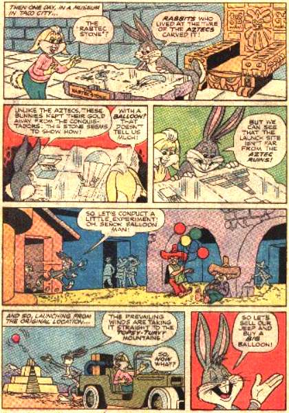 Rabtec Treasure Hunt (From Bugs Bunny 182, March 1977)