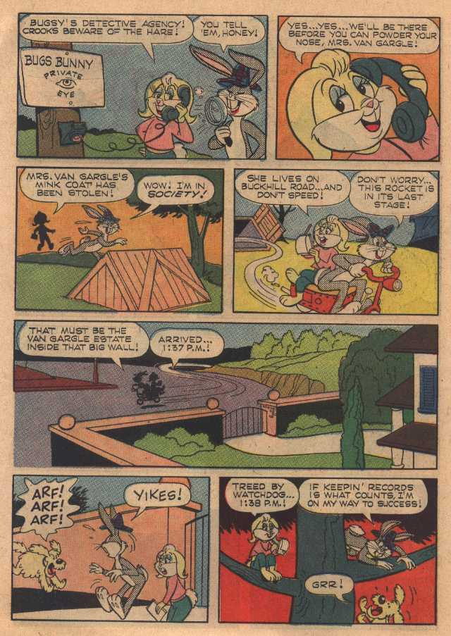 The Girl from B. U. N. N. Y. (Bugs Bunny #109 January, 1967)