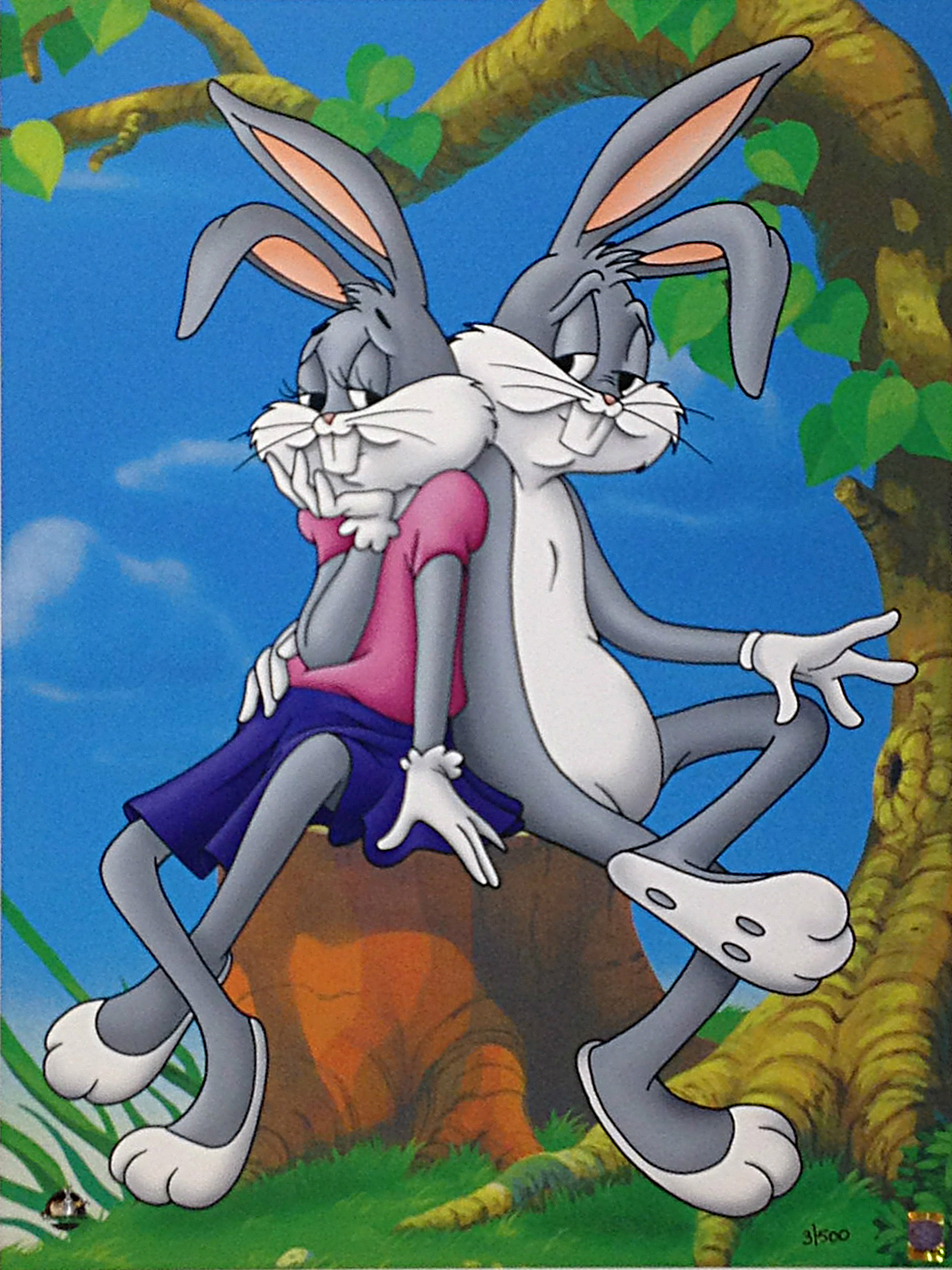 Bugs Bunny and Honey Bunny