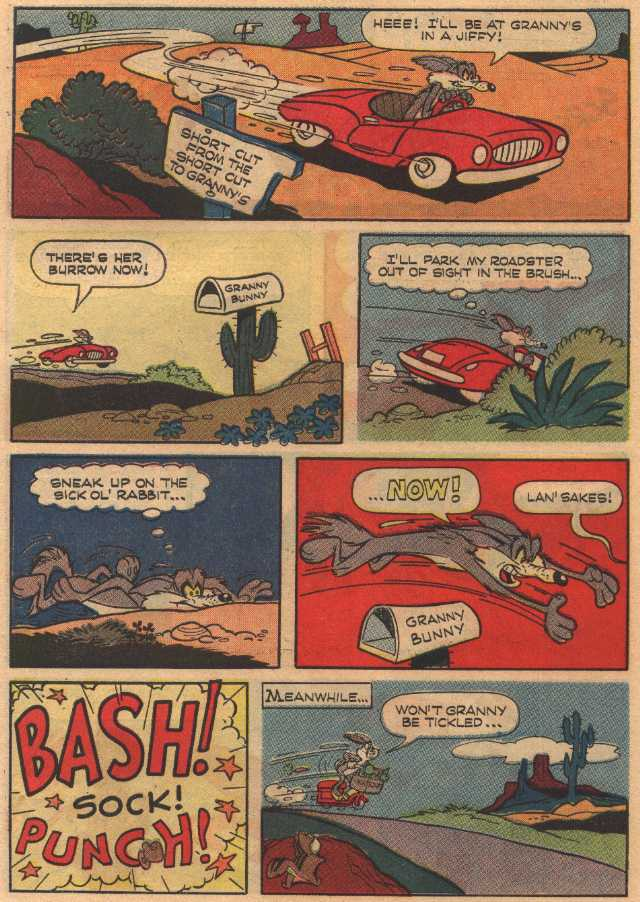 Little Red Riddin' Rabbit (z czasopisma Bugs Bunny 110, marzec 1967)