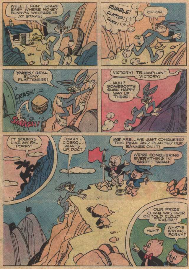 Peril Pass (From Looney Tunes 14, June, 1977)