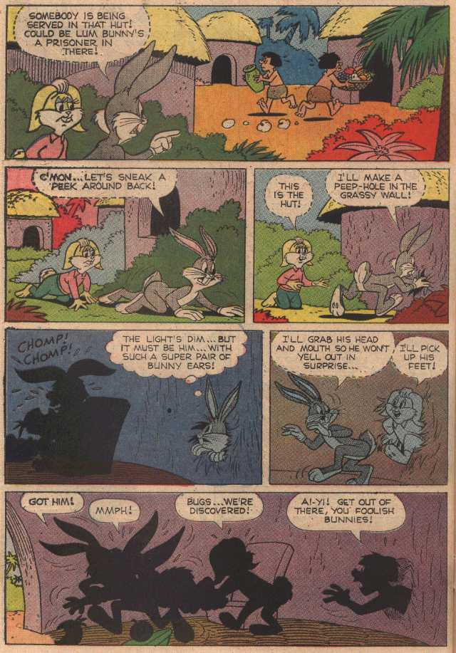 The Amazing Amazon Adventure (From Bugs Bunny #115 January 1968)