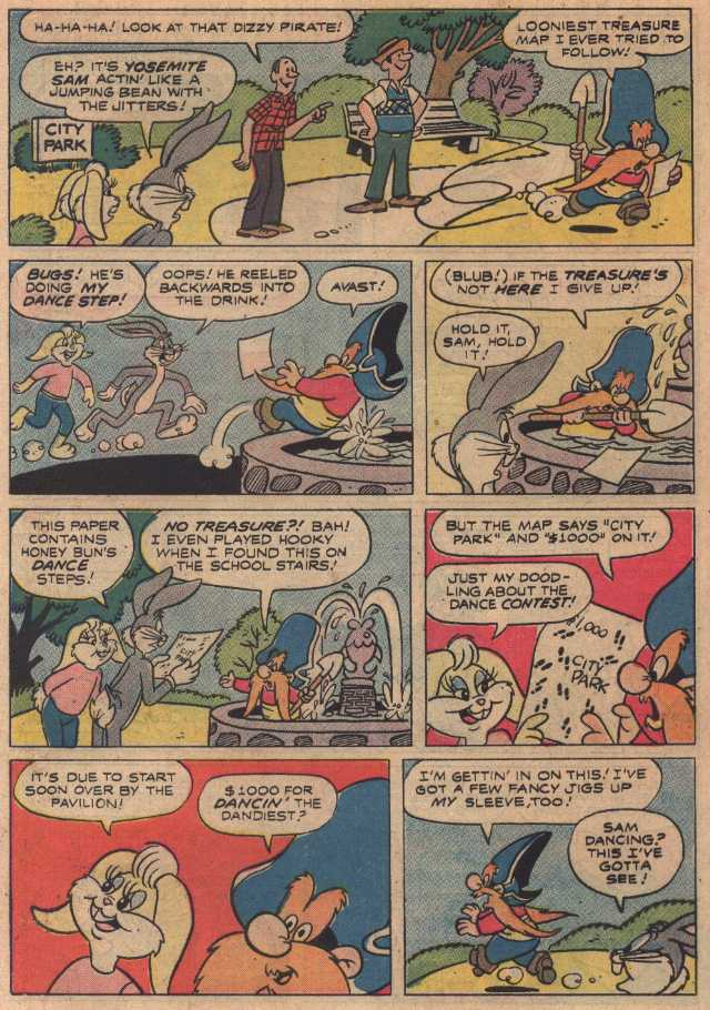 The Stolen Steps (From Looney Tunes #12, February, 1977)