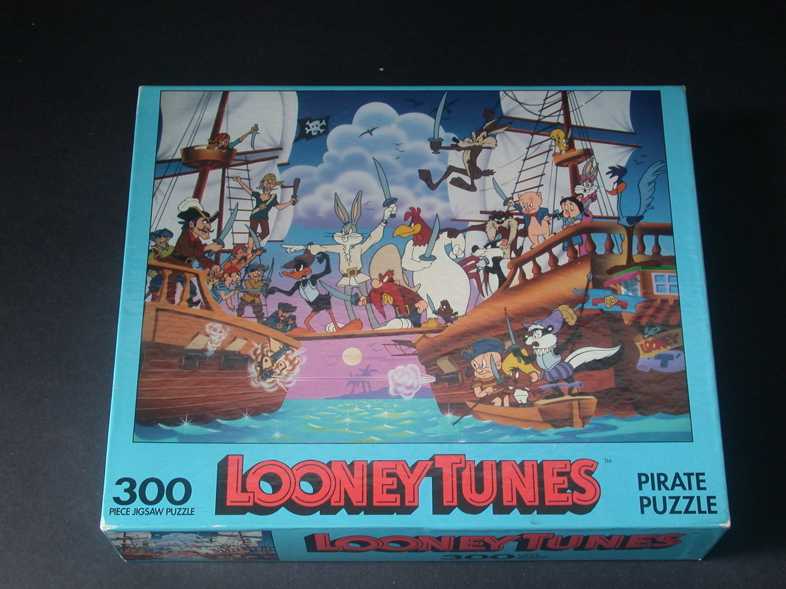 Puzzle - Bugs Bunny fights with pirates