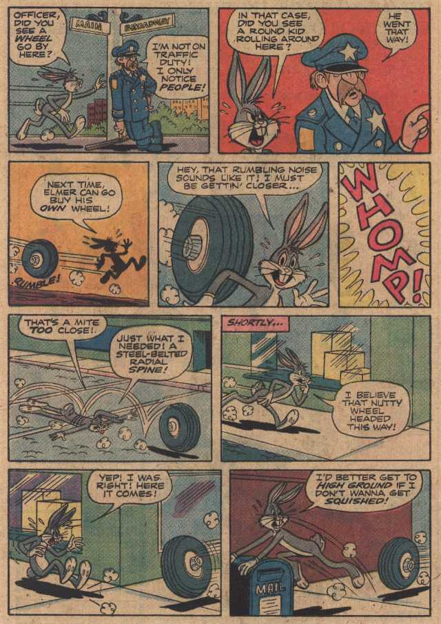 Big Wheel Deal (From Bugs Bunny #174, July 1976)