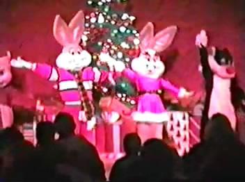 Christmas show at Six Flags Astroworld